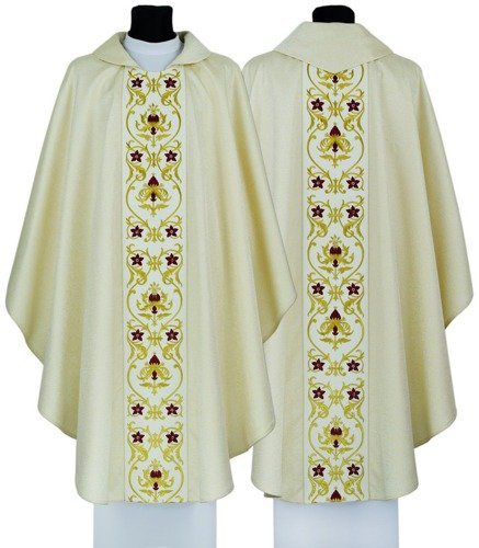 Gothic Chasuble model 701