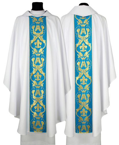 Marian Gothic Chasuble model 081