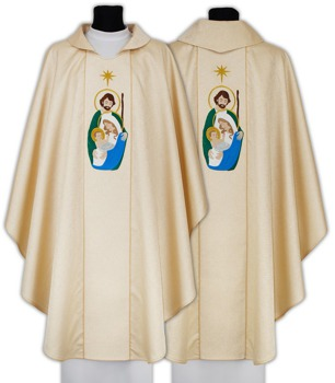 Gothic Chasuble for Christmas model 612