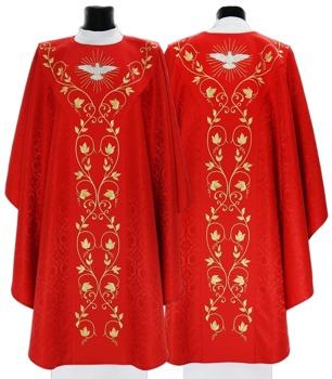 Semi-Gothic Chasuble Holy Spirit model 653