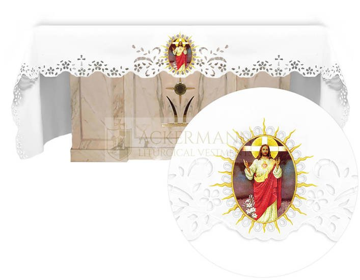 Altar cloth - Openwork with an Easter theme 743