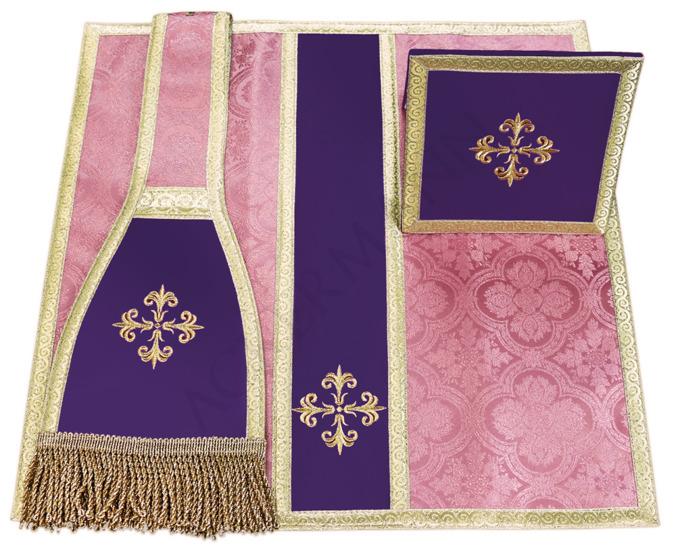Burse, maniple and chalice veil