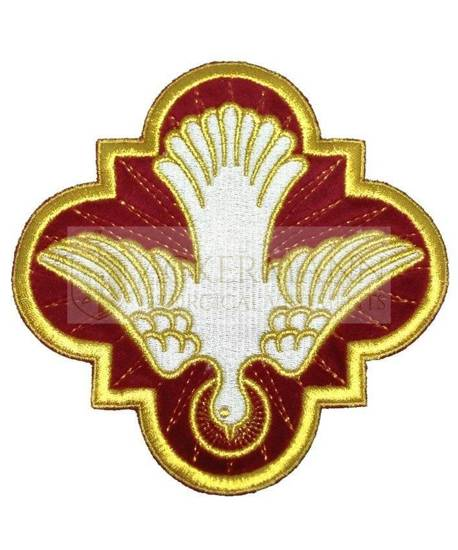 Embroidered Applique Holy Spirit