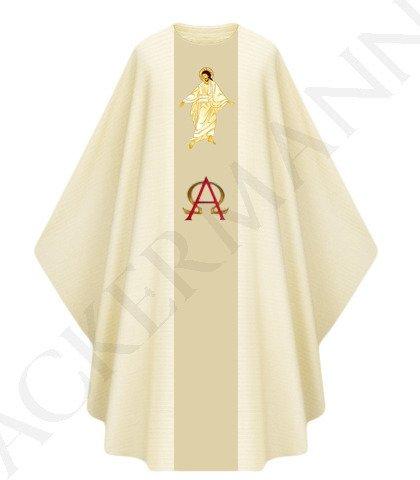 Gothic Chasuble Jesus is Risen model 444