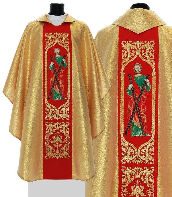 Gothic Chasuble Saint Andrew model 414