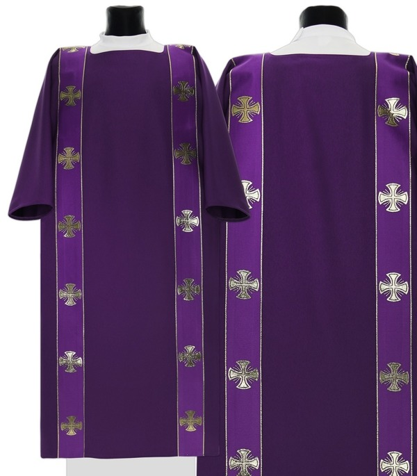 Gothic Dalmatic Maltese Crosses model 104