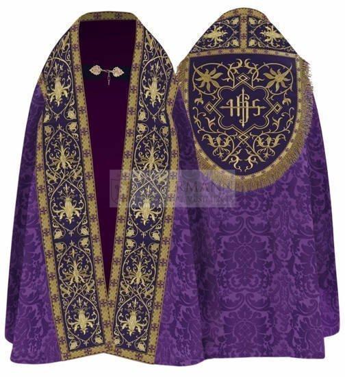 Purple Roman Cope model 826