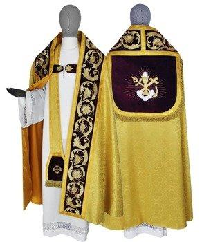 Gold Roman Cope Sacramental Bread model 787