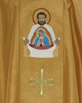 Gothic Chasuble Saint Juan Diego model 430