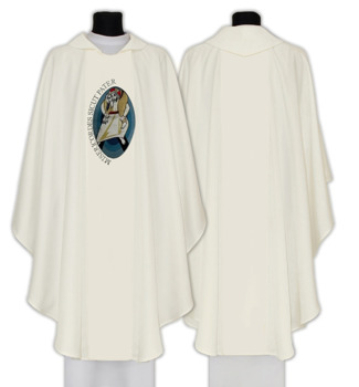 Gothic Chasuble Year of Mercy model 713