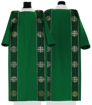 Gothic Dalmatic Jerusalem Crosses model 103