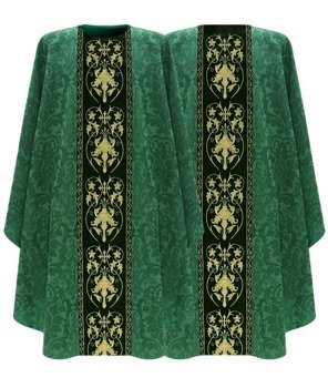 Green Gothic Chasuble model 557