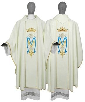 Marian Gothic Chasuble