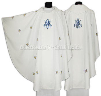 Marian Gothic Chasuble model 638
