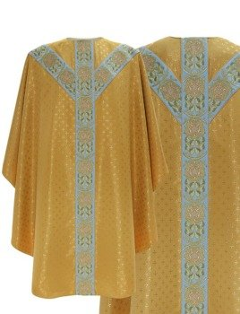 Semi Gothic Chasuble model 770