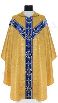 Marian Semi Gothic Chasuble model 579