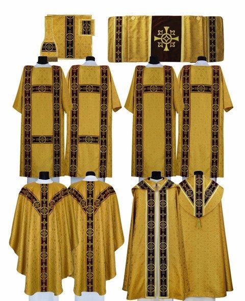 Semi Gothic style High Mass Set model 579