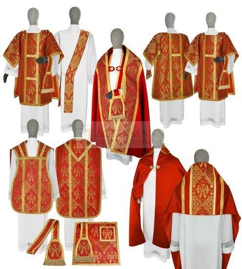 Satz liturgischer Gewänder